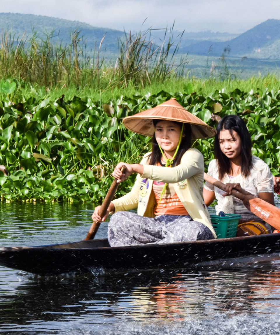 The girls from Inle Lake