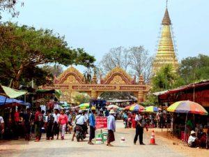 Shwesaryan pagoda festival
