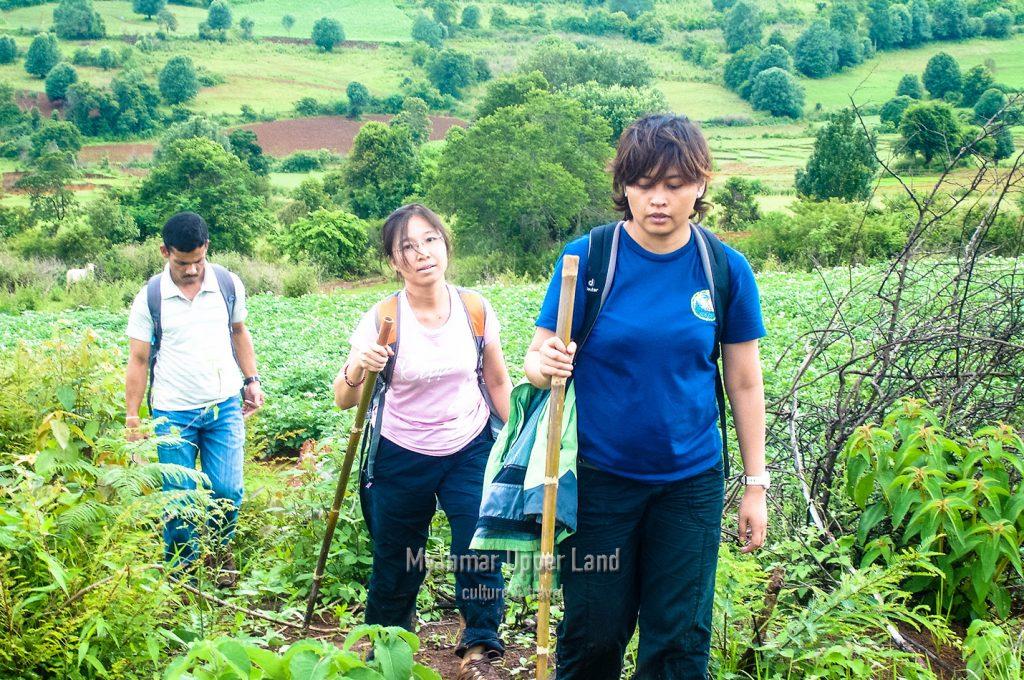 Trekking in Shan State